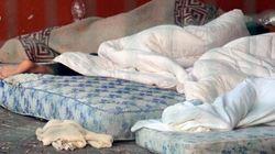 Campi profughi nelle strade, nei parchi, negli ex conventi e nelle caserme