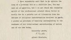 27 lettere private (e inedite) di Albert Einstein per la prima volta