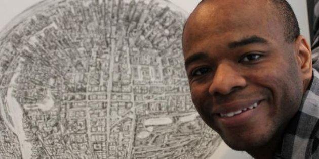 Stephen Wiltshire, autistico, disegna le mappe delle città a memoria. Un talento geniale che ha messo...