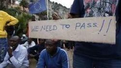 La Francia blocca il passaggio ai profughi. Che fanno lo sciopero della