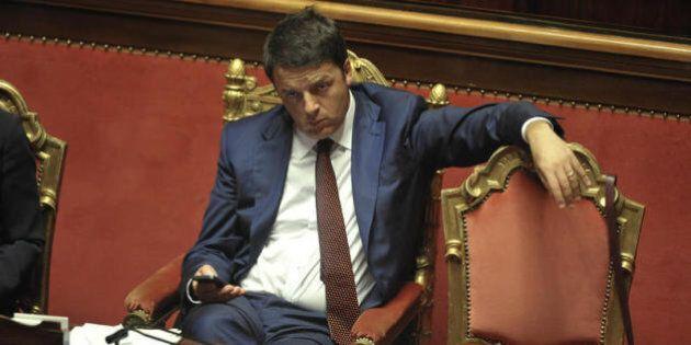 Matteo Renzi lancia la campagna dei