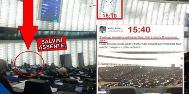 Ebola, Matteo Salvini denuncia: