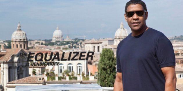 Denzel Washington a Roma per 'The Equalizer': il giustiziere della notte che legge