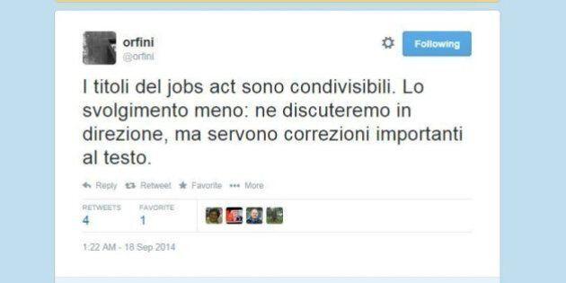 Jobs Act, Matteo Orfini: