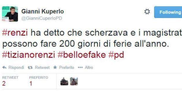 Tiziano Renzi indagato, le reazioni su twitter: