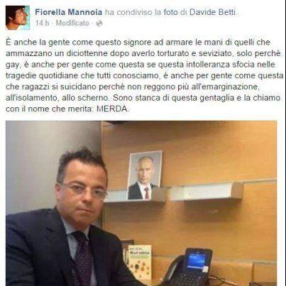 Fiorella Mannoia Vs Gianluca Buonanno: