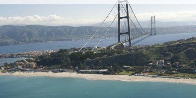 Ponte sullo stretto di Messina, il