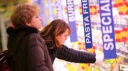 Allarme consumi: dal 2007 persi 80