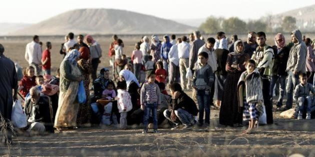 Isis: oltre 130mila profughi curdi in Turchia