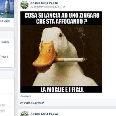 Andrea Della Puppa: il segretario leghista su Facebook