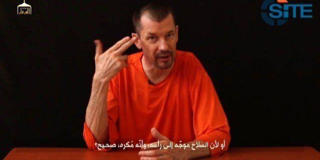 John Cantlie, Isis pubblica un nuovo video: