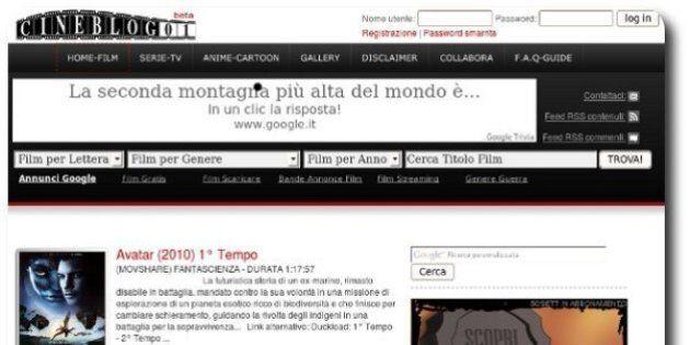 Cineblog01: chiude il sito per guardare i film in streaming. Da marzo sequestrati 46 siti