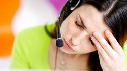 I lavoratori più infelici? Colf, addetti nei call center e venditori a