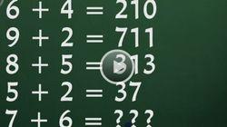7+6? Il rompicapo che vi permette di scoprire se avete un QI di