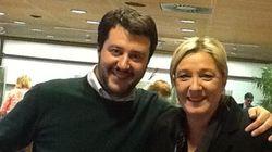 Nasce l'eurogruppo Salvini-Le Pen grazie al soccorso nero dei