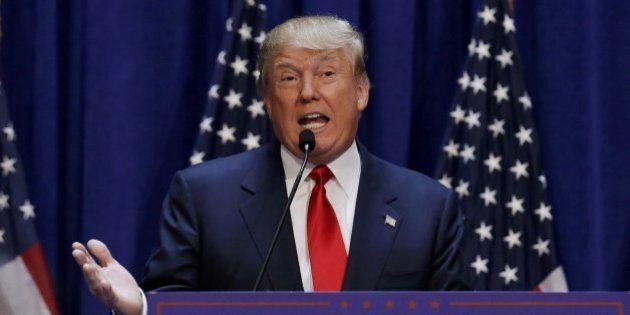 Donald Trump si candida alle primarie repubblicane: