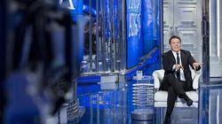 Renzi chiede alla platea di Porta a Porta un parere sul sindaco Marino: solo tre a
