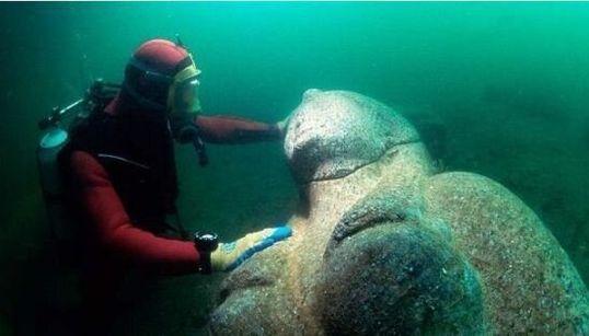 L'Atlantide d'Egitto riemersa dalle acque finalmente si mostra al