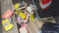 Signora x e signor y, i libri non vanno messi nel
