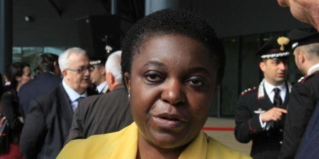Roberto Calderoli, Cecile Kyenge: