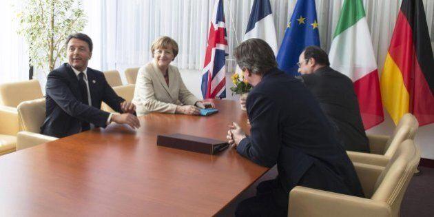 Migranti, Consiglio Ue verso sì a programma in 10 punti. Mini summit tra Renzi, Merkel, Hollande e