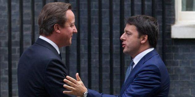 Expo, David Cameron a Renzi: