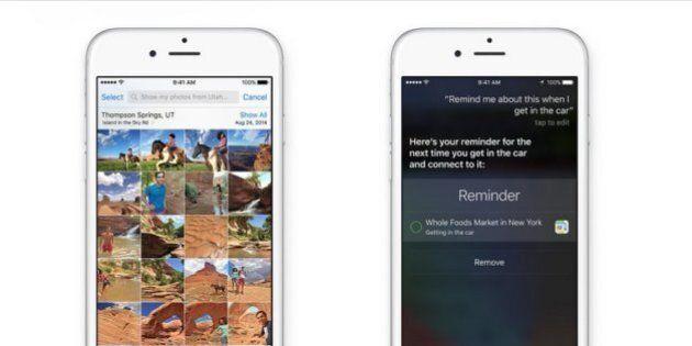 iOS 9, le novità dell'aggiornamento del sistema operativo Apple. Un nuovo font, Siri più intelligente...
