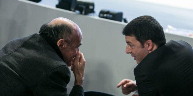 Matteo Renzi-Pier Luigi Bersani incontro oggi a
