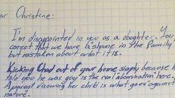 L'emozionante lettera di sostegno di un nonno al nipote