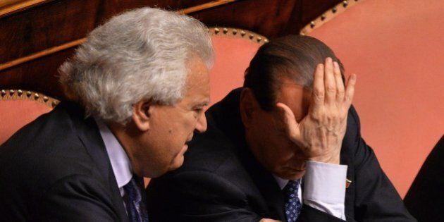 Forza Italia, Denis Verdini urla in faccia a Silvio Berlusconi: