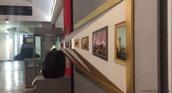 VIDEO. Il quadro di Patrick Hughes è un'illusione ottica che vi farà girare la