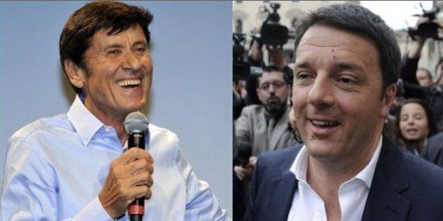 Matteo Renzi telefona a Gianni Morandi: supporto del leader Pd per il cantante. Ma Salvini non ci sta...