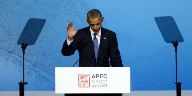 Vertice Apec, Barack Obama in Cina: