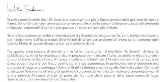 Corrado Passera scende in politica: la lettera ai sindaci
