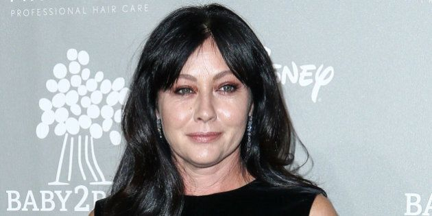 Shannen Doherty attends the 4th Annual Baby2Baby Gala held at 3Labs on Saturday, Nov. 14, 2015, in Culver...