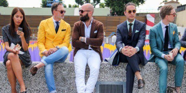 Pitti Uomo 88, il meglio dello street style. Ecco come vestono gli uomini