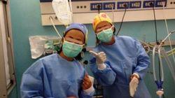 Selfie in sala operatoria negli ospedali