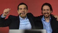 Soccorso rosso per Alexis Tsipras ad Atene: domani con lui sul palco anche Pablo Iglesias di