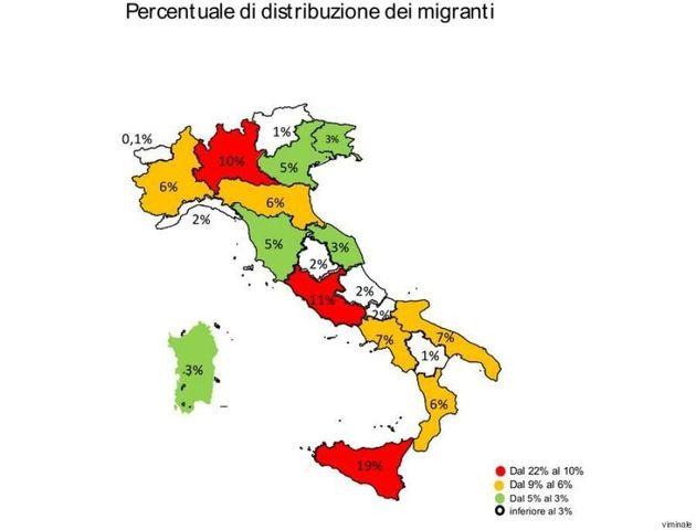 Migranti, i dati del Viminale: circa 59mila sbarcati dall'inizio dell'anno, ospitati specialmente in...