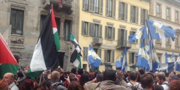 25 aprile, Festa di liberazione: la brigata ebraica insultata a Milano. Cori dal corteo: