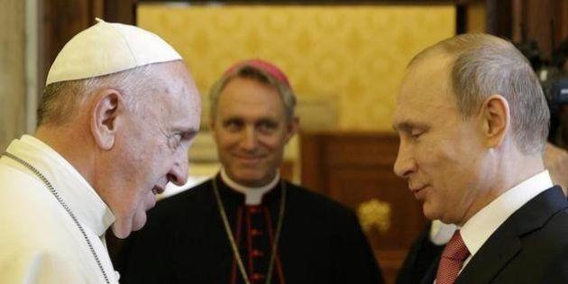 Nonostante l'apertura del Papa, contro Putin occorrono le