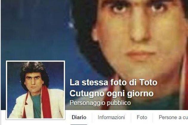 Toto Cutugno, una pagina Facebook pubblica sempre la stessa foto ogni giorno. Se ne accorge il Washington