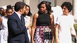 Tutti in coda per vedere Michelle. Ma la visita è blindata: milanesi