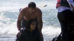 La disperazione della migrante e il coraggio del soldato. In Grecia questa è