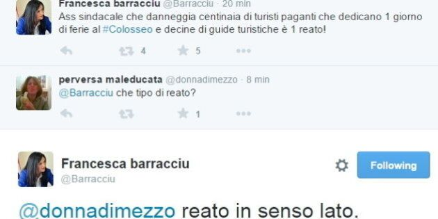 Colosseo, Francesca Barracciu su twitter: