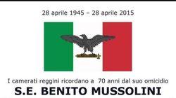 A Reggio Calabria una messa per celebrare Mussolini e i caduti della