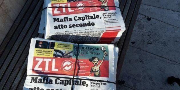 Roma Comune, in metro arriva la finta free press della capitale