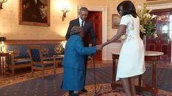 Virginia realizza il suo sogno: a 106 anni balla con Barack e Michelle
