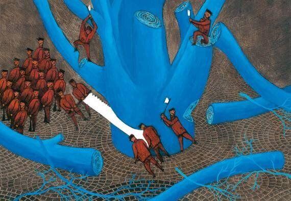 L'Albero Azzurro di Amin Hassanzadeh Sharif: quando la libertà non si può