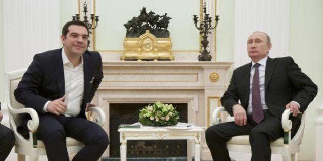 Tsipras da Putin. Chi ha paura di